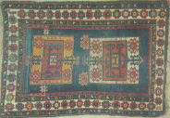 GANDZAK (KIROVABAD), XIX, 95x156 cm, N169 - 1, AESM