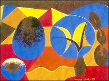 Ulivo e roccia, 1997