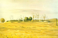 The outskirts of a village, 1970