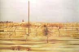 The road to echmiadzin. autumn, 1970