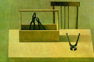 Tools on a table, 1980