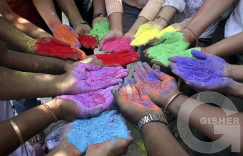 Праздник красок