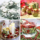 Свечи для новогоднего праздника
