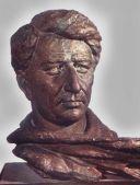 Yeghisheh Charents, poet, 1960, bronze, YCHM