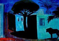 Night scene. 1911