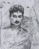 Self-Portrait. 1909