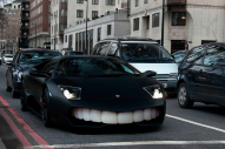 Креативный Lamborghini