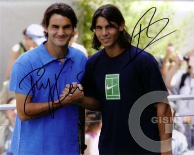 Роджер Федерер и Рафаель Надаль-Большой теннис!