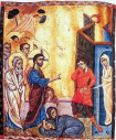 The Raising of Lazarus - c.1250
