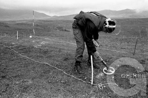 HALO Trust Minefield clearance, Askeran , Nagorno Karabakh  © Onnik Krikorian , Oneworld Multimedia.