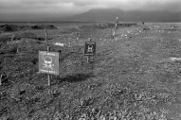 Minefield, Askeran, Nagorno Karabakh © Onnik Krikorian , Oneworld Multimedia.