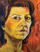 Self Portrait A La Van Gogh, 1981