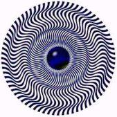 Не отводите взгляд (по кругу движется зеленый круг)