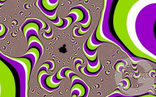Зрительная иллюзия от Акиоши Китаока
